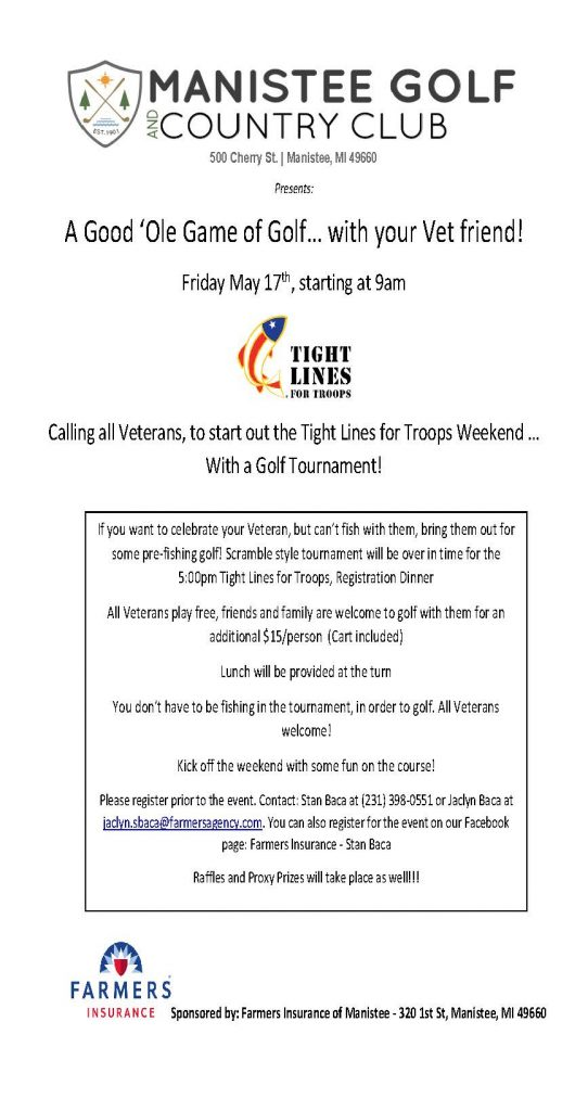 Additional Event Weekend Activities | Tight Lines for Troops